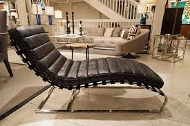 Black Chaise Lounge Vintage Black Chaise Lounge Andrew Design Luxe Home