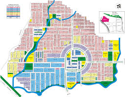 Islamabad Map Multi Gardens Block E