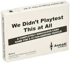 amazon com we didn u0027t playtest this at all with chaos pack toys