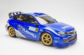 subaru wrc amazon com subaru impreza wrc 2008 drift custom rc model 1 16