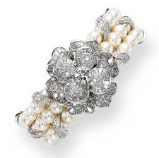 bracelet diamond pearl images Chanel pearls and diamonds bracelet tiffany tiffany rings jpg