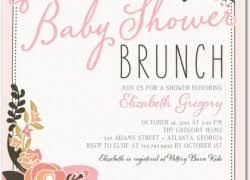 invitations for brunch elephant baby shower invites cloveranddot