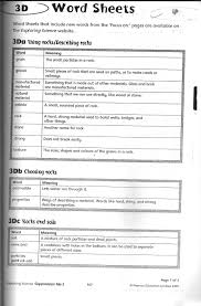 the city grade 3 science reinforcement worksheets