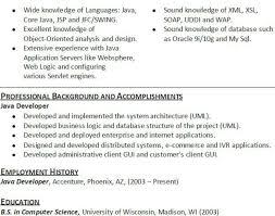 java developer resumes java developer resume 1 8 best best java