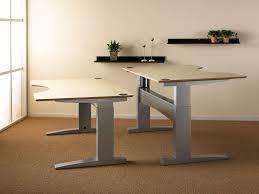 Electric Height Adjustable Computer Desk Electric Height Adjustable Desk Home Design Ideas Height