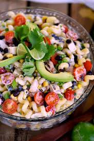 Creamy Pasta Salad Recipes by Creamy Cilantro Lime Southwestern Pasta Salad Mom On Timeout