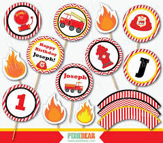 firefighter cupcake toppers best 25 truck cupcakes ideas on truck cakes
