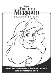 coloring pages of the little mermaid the little mermaid