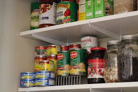 Organizing Kitchen Pantry - pine tree home organizing kitchen pantry with shelving