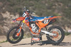 factory motocross bikes motocross action magazine trials u0026 tribulations of the 2016 ktm