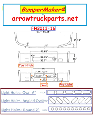 kenworth aftermarket accessories bumpermaker kenworth t600 bumper