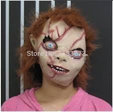 chucky mask wholesale of chucky mask horror theme creepy scary