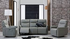 savoy leather sofa with twin electric reclining actions domayne