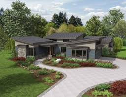 post modern house plans modern ranch homes on house plans house plan of the week the