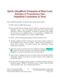 power factor for lighting load 1 tutorial handouts 150