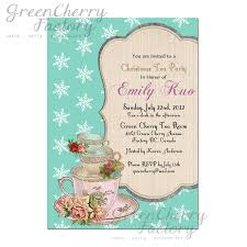 bridal shower tea party invitations party invitations templates