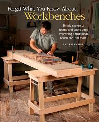 Free Woodworking Plans Workbench by Free Plan Sturdy Sawhorses Finewoodworking