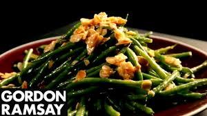 green bean salad with mustard dressing gordon ramsay youtube