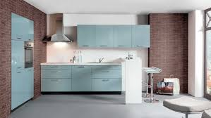 meuble cuisine bleu meubles cuisine bleu gris idées de décoration capreol us