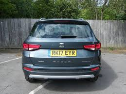 seat ateca blue used 2017 seat ateca tdi ecomotive se technology 5dr for sale in