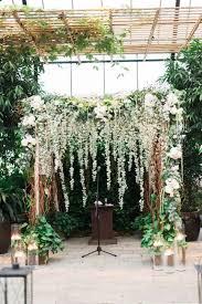wedding backdrop garden 20 botanical wedding ceremony backdrops weddingomania