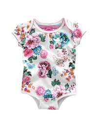 Vintage Style Baby Clothes Baby Bree Creme Garden Floral Romper Suit Joules Us Baby