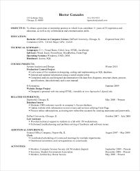 Resume Objective Examples For Students by 28 Entry Level Resume Objective Examples Example Of An
