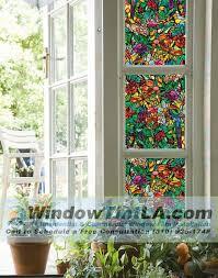 Decorative Window Film Stained Glass Decorative Window Film For Privacy Window Tint Los Angeles