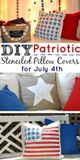 how to easily make diy patriotic pillows easy decorations