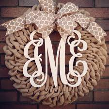 monogram wreath the funky monkey giveaway single letter monogram wreath from