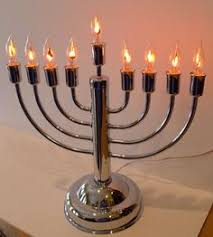 menorah candles silvertone electric menorah this and it s safer than using