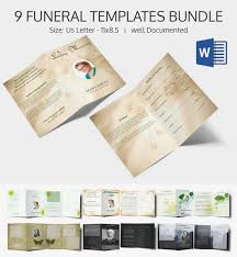 Indesign Price List Template Sample Funeral Program Template 30 Download Free Documents In