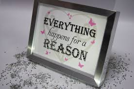 everything happens for a reason sparkle word art pictures quotes