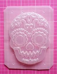 where to buy sugar skull molds skull mold sugar skull mold skeleton mold by sparklekittyresin