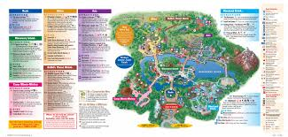 Universal Studios Orlando Park Map by Disney U0027s Animal Kingdom Map Orlando Theme Park Talk