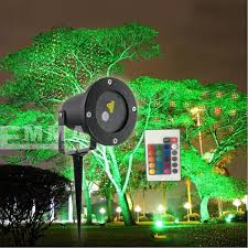christmas light laser remote controllable laser outdoor garden light and green in