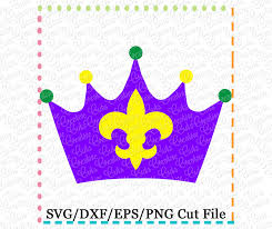 mardi gras crown mardi gras crown cutting file svg dxf eps creative appliques