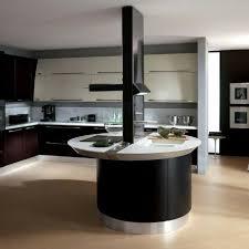 meuble cuisine arrondi plan de travail cuisine ovale idée de modèle de cuisine