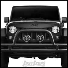 jeep angry headlights jeep parts buy black mountain angry eyes grill for 07 jeep