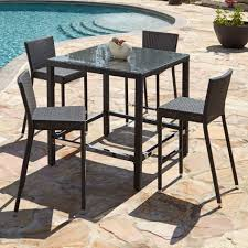 Patio Chairs Bar Height Bar Height Outdoor Chairs Outside Pub Furniture Bar Height Bistro