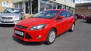 used ford focus titanium 2012 cars for sale motors co uk