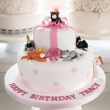 Birthday Cakes Charming Cat Birthday Cakes Animal Dog