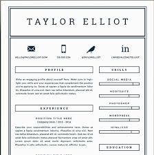 Resume Templates For Pages Free Free One Page Resume Template Resume Template And Professional