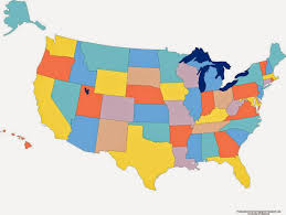 empty map of united states us map blank color coloring throughout of to justinhubbard me