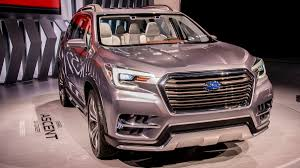 New Subaru 7 Seater Subaru Ascent Concept Previews Forthcoming 7 Seat Suv