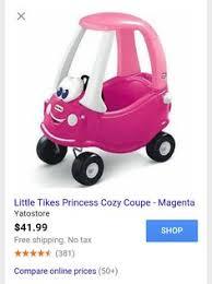 little tikes princess cozy truck ride on under 50 princesses