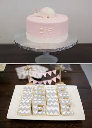 Pink And Gray Baby Shower The Celebration Society
