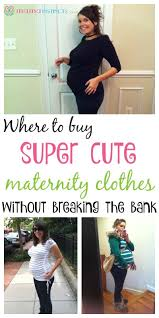 where to buy cute and affordable maternity clothes u2013 mama instincts