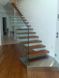 Solid Banister Contemporary Interior Design With Modern Stairs Ideas Feat Solid
