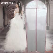 wedding dress storage dustproof protector bridal gown wedding dress garment breathable